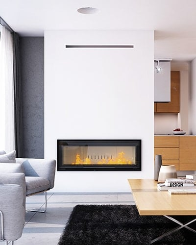 MB 120 fireplace