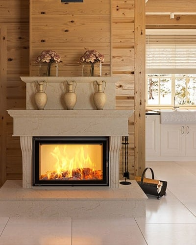 Lucy 16 fireplace