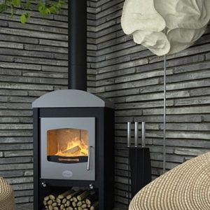 Flamingo Stavanger fireplace