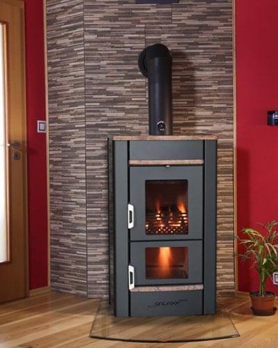 Pyro Galaxy Aqua fireplace