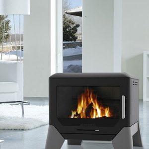 F Box fireplace