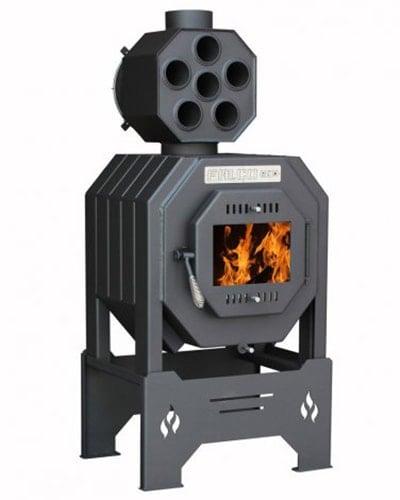 Rapid fireplace